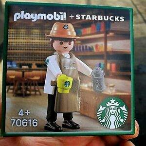 Starbucks korea  2021 for every starbucks buddy Playmobil Partner Barista - JOY