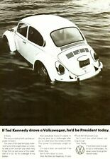 VW floating ad  Retro Metal Tin Sign Poster Plaque Garage Wall Decor A4
