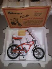 Die Cast Schwinn 69 Orange Krate xonex sting ray 1/6 scale toy bicycle model