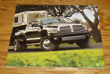 Original 2007 Dodge Ram Truck Deluxe Sales Brochure 07 ST SLT TRX4 Laramie