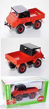 Siku Farmer 3450  Unimog Sondermodell Werbemodell rot 1:32 1 Karton (=20 Stück)