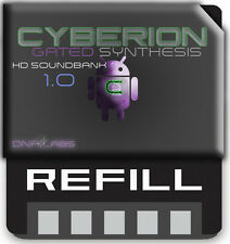 REASON REFILLS CYBERION HD BANK 1 GATED SYNTHS AND EFFECTS REFILL W/PREVIEW
