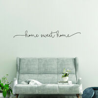 AU_ Letter Sweet Home Wall Art Decal Sticker Removable Living Room Home Decor Ne