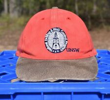 fbc2bef33c7df6 Vintage Cap Dad Hat - National Drilling & Well Control Program UNSW - Suede  Peak