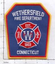Connecticut - Wethersfield CT Fire Dept Patch
