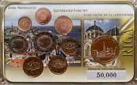 Euro Kursmünzensatz Lettland