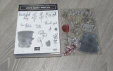 Stampin' Up! Stamp Set Love what You do floral