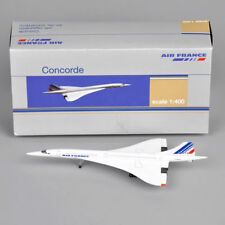 Concorde 1/400 Scale Air France 1976-2003 Plane Model Aircarf Collection Toy