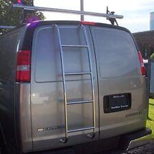 Stainless Steel Van Ladder Chevrolet Express , GMC Savana Van 1996-2016