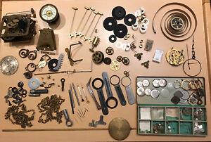 Konvolut Uhrenersatzteile für Standuhr Wanduhr Regulator Armbanduhr  (285)