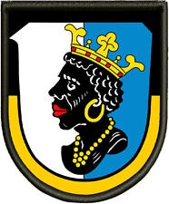 Wappen von Lauingen   Patch, Aufnäher, Pin, Premium  Aufnäher