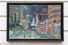 9th & Fig Downtown Los Angeles PleinAir Impressionism Cityscape John Kilduff