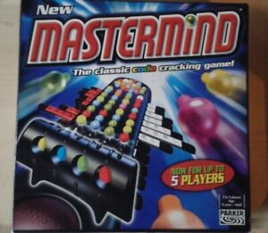 MASTERMIND BY PARKER BRILLIANT MODERN CLASSIC 5 PLAYER BOARD GAME COMPLETE VGC