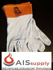 Steiner 0221-L TIG Gloves, Split Deerskin, Unlined 2-Inch Cuff, Large