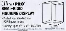 """Ultra Pro Semi-Rigid Figurine Display Funko Pop! Box Protector 4"""" Clear"""