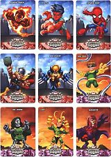 Marvel Super Hero Squad Pop-Up Complete 10 Card Chase Set