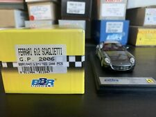 1/43 BBR 184D Ferrari 612 Scaglietti GP 2006