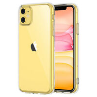 For iPhone 11, 11 Pro, 11 Pro Max Crystal Clear Bumper Case Cover Shockproof DE