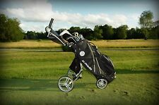 New Pull Cart/Bag Combo That Collapse To A Riding Cart Bag By VG Golf