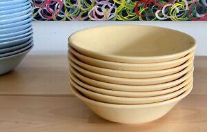 Vintage Johnson Brothers Bros Australia utility ware yellow pastel bowl 8 avail.