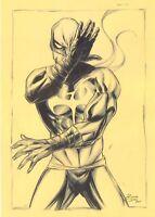 Iron Fist Original Art Sketch 11 x 17