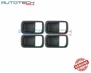 Toyota LandCruiser 80 New Genuine Door Bezel Inner Grey Set of 4