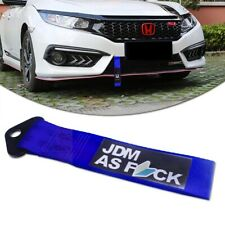 JDM AS Drift Tow Strap Car Bumper Trailer Hauling Strap Towing Hook Tow Ropes
