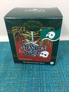 Phantom of the Opera  Carlton Heirloom Music Christmas Ornament 1986 NIB