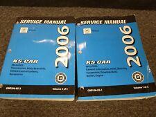 2006 Cadillac DTS Sedan Shop Service Repair Manual Luxury I II III Performance