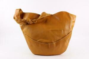 Bottega Veneta  Brown Leather Knot Hobo Bag 19bot1221