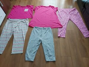 Ladies bundle size 24/26 Pyjamas pink icecream grey mix