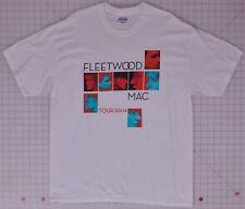 Fleetwood Mac Tour 2004 White Large T-Shirt