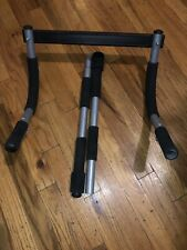 IRON GYM by PRO FIT PULL UP UPPER BODY WORKOUT BAR Door Frame Mobile Exercise
