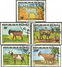 Mali 983-987 (complete issue) used 1984 Goats