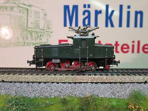 (MB) Märklin 3001 E63 Green Digital Change White/Red + 4LEDs Top Condition