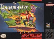 Pagemaster SNES Great Condition Fast Shipping