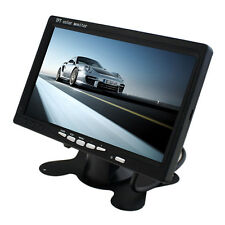 Portable 7 inch TFT LCD Digital Color Screen Monitor for Car Rear View New NJY