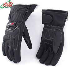 Tuzo Arctic Leather Winter Thermal Waterproof Gloves Black Medium M