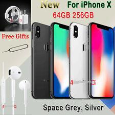 NEW Unlocked Apple iPhone X 10 Ten Mobile Smartphone SIM Free 64GB Silver UK