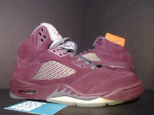 Nike Air Jordan V 5 Retro LS BURGUNDY RED WOLF GREY BLACK SILVER 314259-602 11.5