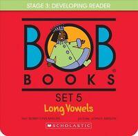 Long Vowels : Bob Books Set 5, Paperback by Maslen, Bobby Lynn; Maslen, John ...