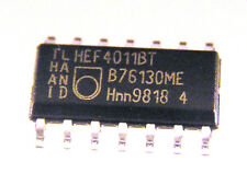 Philips HEF4011BT QUAD 2-IN NAND GATE SO14  5 pieces OM0197
