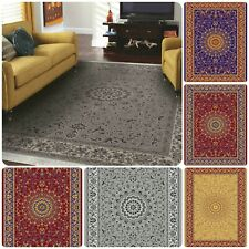 Traditional Vintage Style Classic Small Large Living Area Rugs Mats Floor Runner