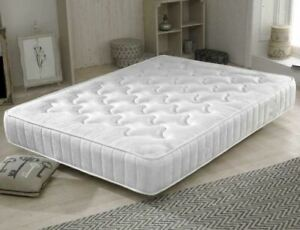 Memory Foam Mattress Quilted 7 Inch or 9 Inch Option - 3ft, 4ft, 4ft6, 5ft Bed