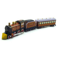 New Hand-Made Tin Retro Train Wind-up Toy Vintage Adult Collection Decoration