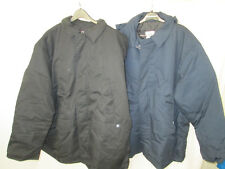 Mens Coat jacket  Black Blue Small 4XL EWC Pinnacle Work uniform or casual NEW