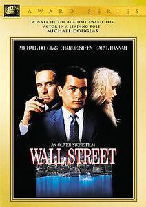 Wall Street / DVD 2000 Widescreen / Michael Douglas / Charlie Sheen / NEW