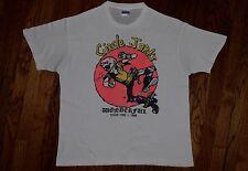 1985 the CIRCLE JERKS wönderful tour T-shirt black flag vtg punk rock 80s L/XL