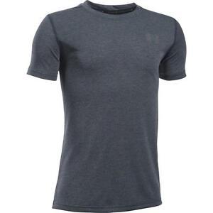 Under Armour Junior Boys Threadborne Tech HeatGear Short Sleeve T Shirt Tee