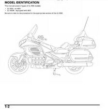 Honda Goldwing GL 1800 Service Repair Maintenance Shop **PDF** Manual 2001-2011